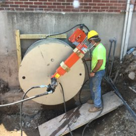 Morrisville Waste Water Treatment Plant Concrete Cutting