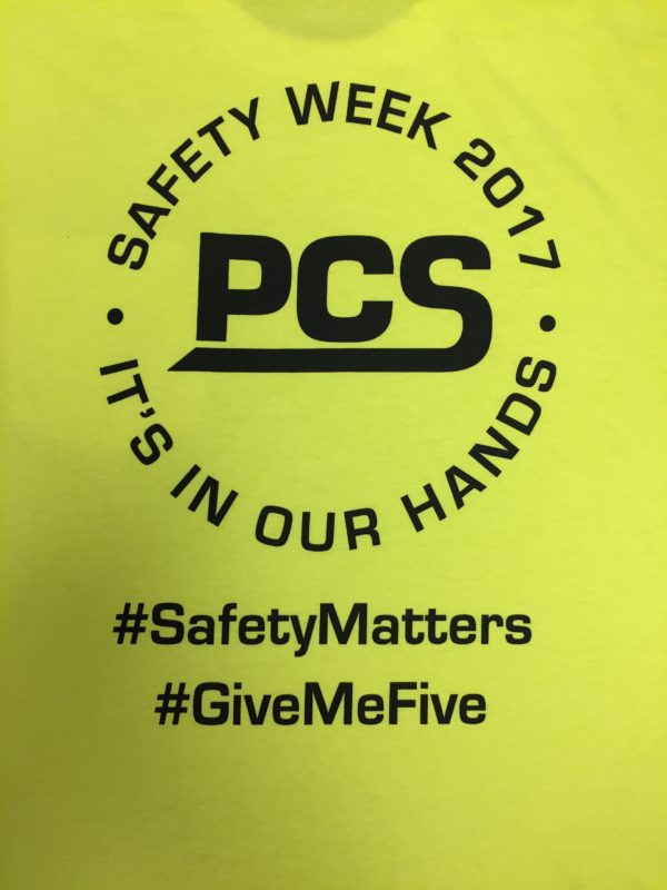 National Safety Week 2017